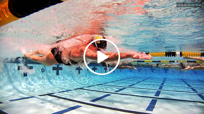 UNDERWATER SWIM VIDEO STROKE REMEDIATION
