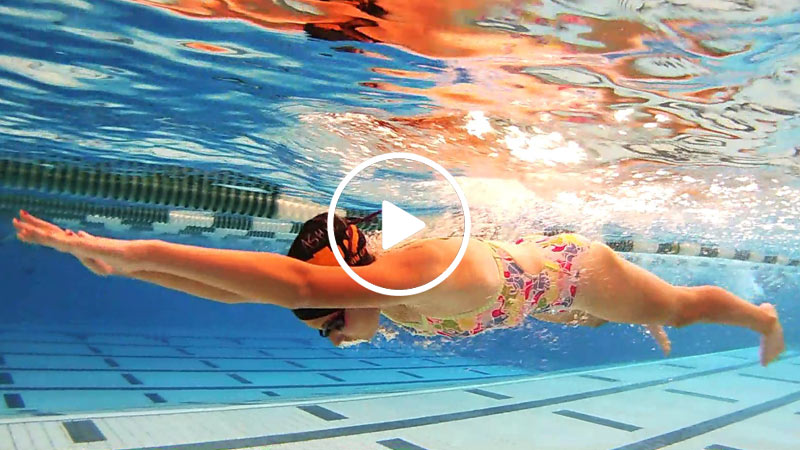 UNDERWATER SWIM VIDEO TRAINING CAMERA