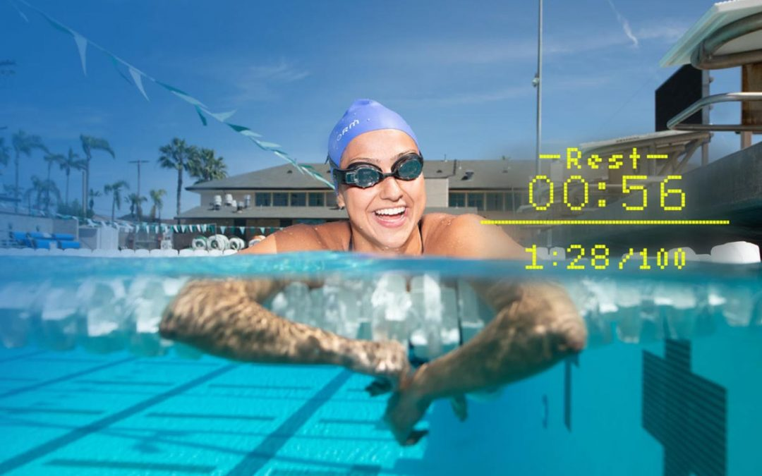 Augmented Reality Swim Goggles