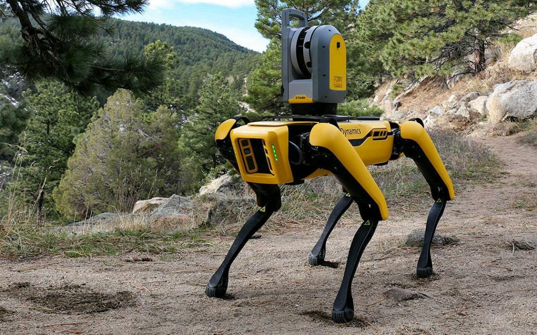 Spot robot Boston Dynamics surveyor